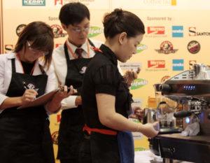 Cuộc thi barista, pha chế đầu tiên tại Việt Nam (1)